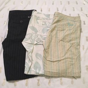 Bundle of O'Neill Bermuda shorts